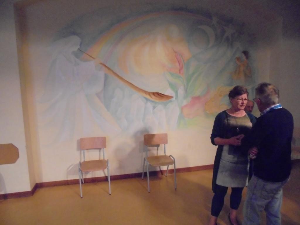 Vrijeschoolbeweging vrije basisschool de regenboog barst uit de voegen vrijeschoolbeweging - Nieuw muurschildering ...